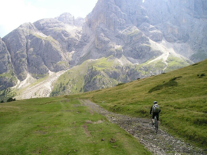 Mountain Biking in the Dolomites