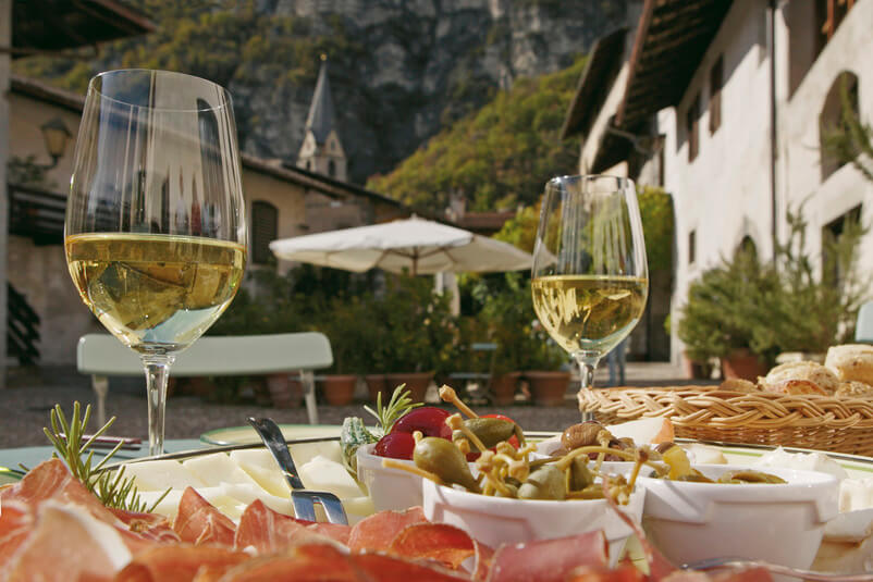 White wines of Alto Adige