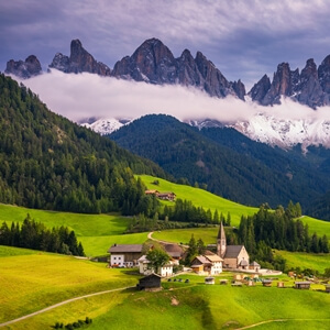 Val di Funes in South Tyrol