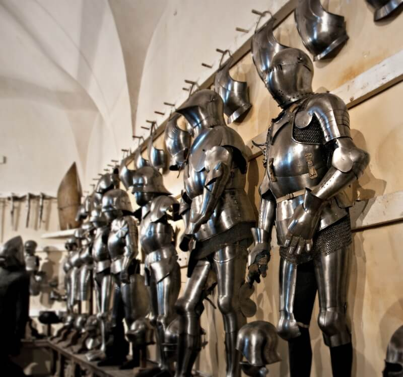 Churburg Castle Armor Suits