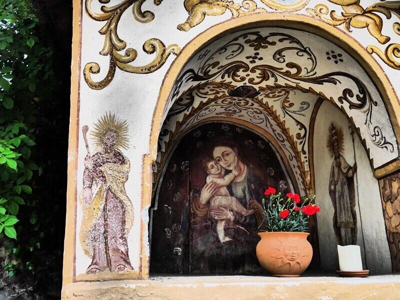 Madonna shrine in South Tyrol