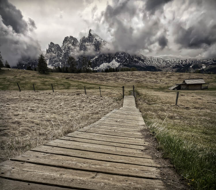 Hiking Trail on Alpe di Siusi