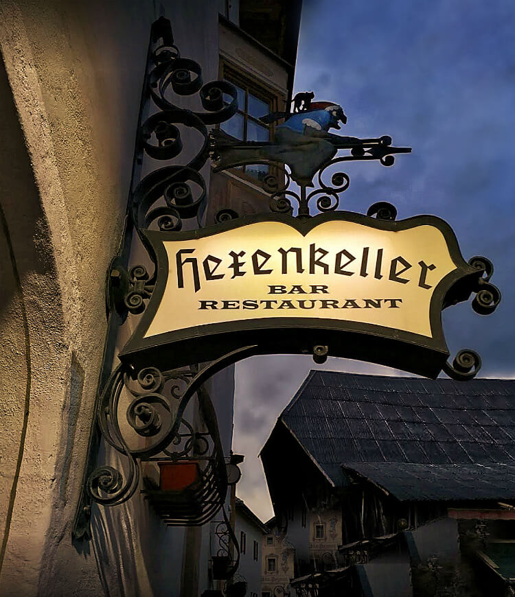 Hexenkeller Restaurant in Castelrotto