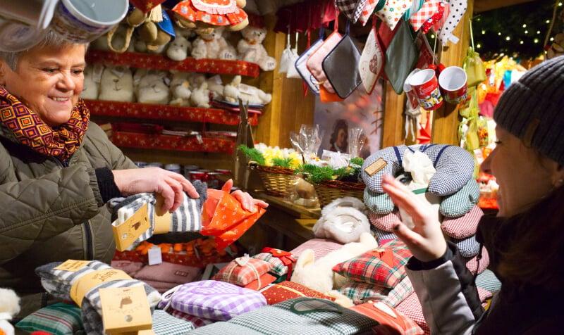 Bressanone Christmas Market Stall