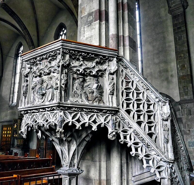 Bolzano Church Pulpit from 1507