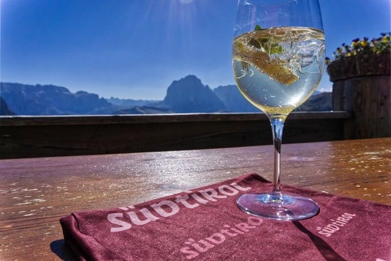 South Tyrol's Hugo Cocktail