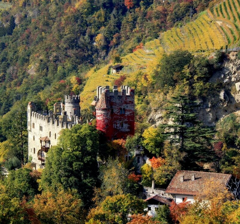 Brunnenburg Castle South Tyrol