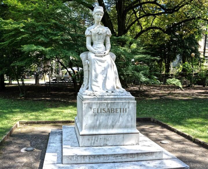 Empress Sissi Statue