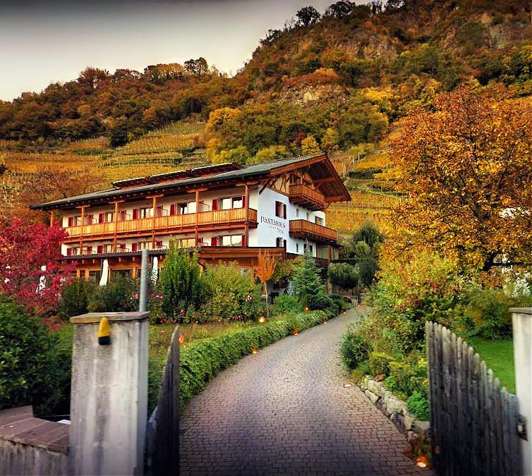 Hotel Garni Partaneshof in Merano