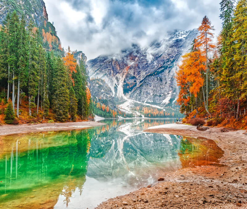 Fall Colors Lago di Braies