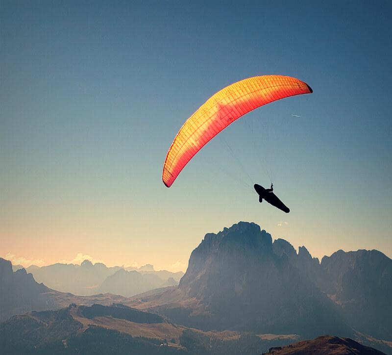 Seceda Paragliding