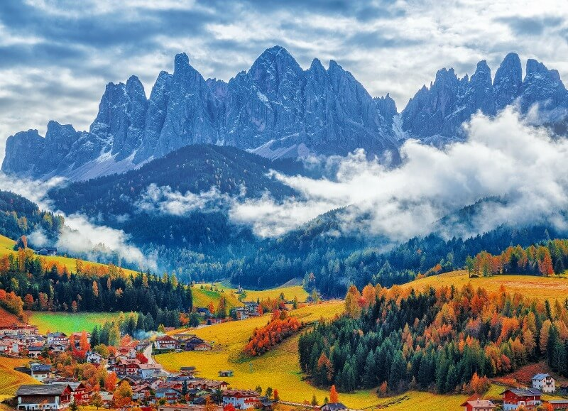 Visiting Val di Funes in Fall