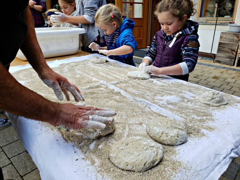 South Tyrolean Bread Baking Demonstration