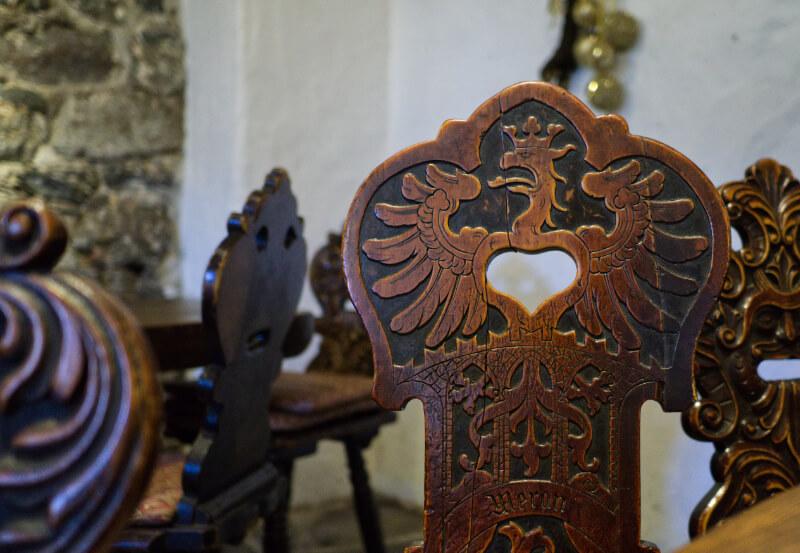 Sudtirol Eagle Castel Rametz Chair