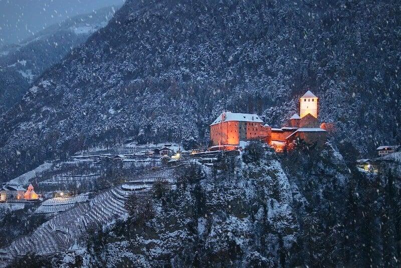 Castle Tirol in South Tyrol
