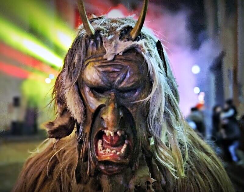 Krampus in South Tyrol, Italy