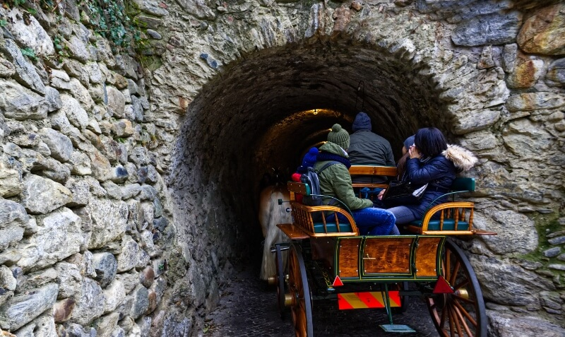 Castle Tirol Tunnel