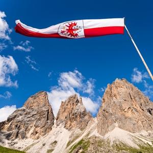 South Tyrol Flag