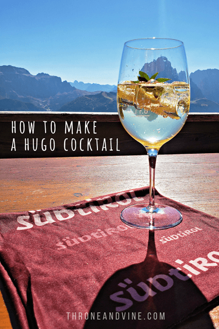 How to make a Hugo cocktail
