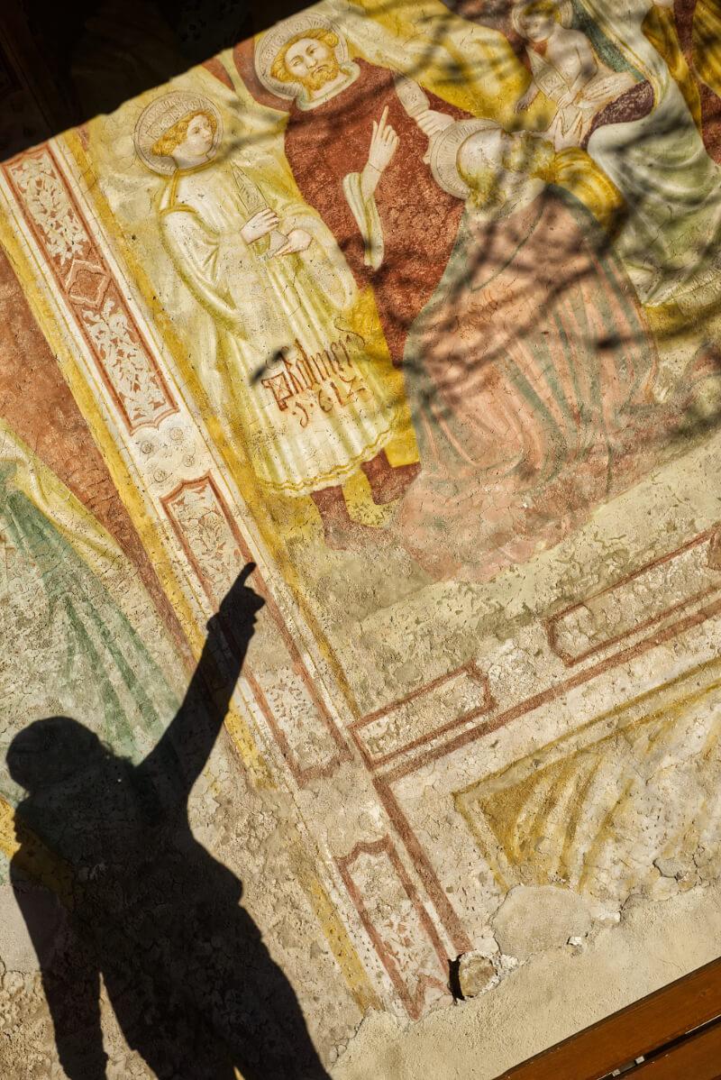 St. Valentin Chapel Fresco