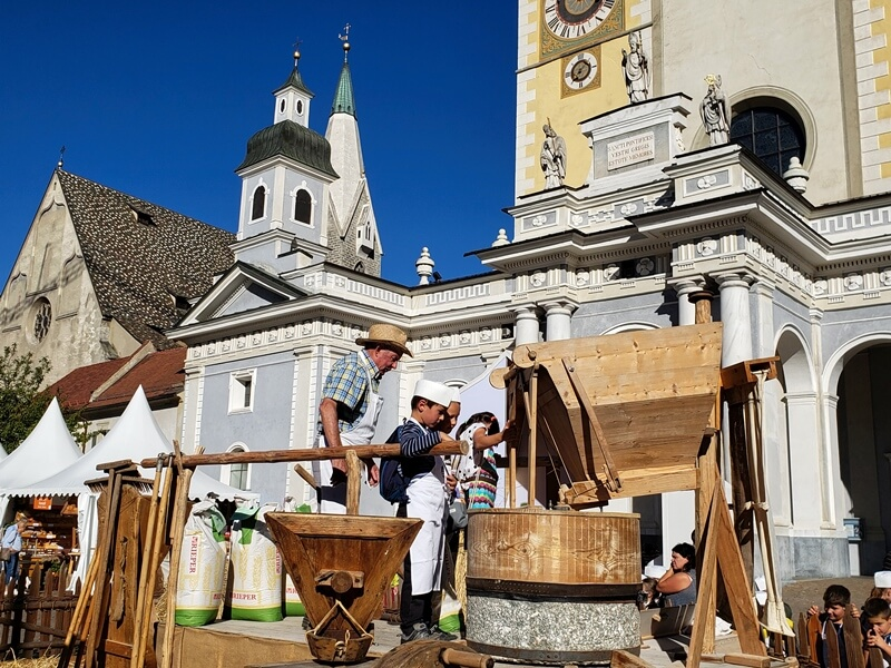 Making Bread in Brixen