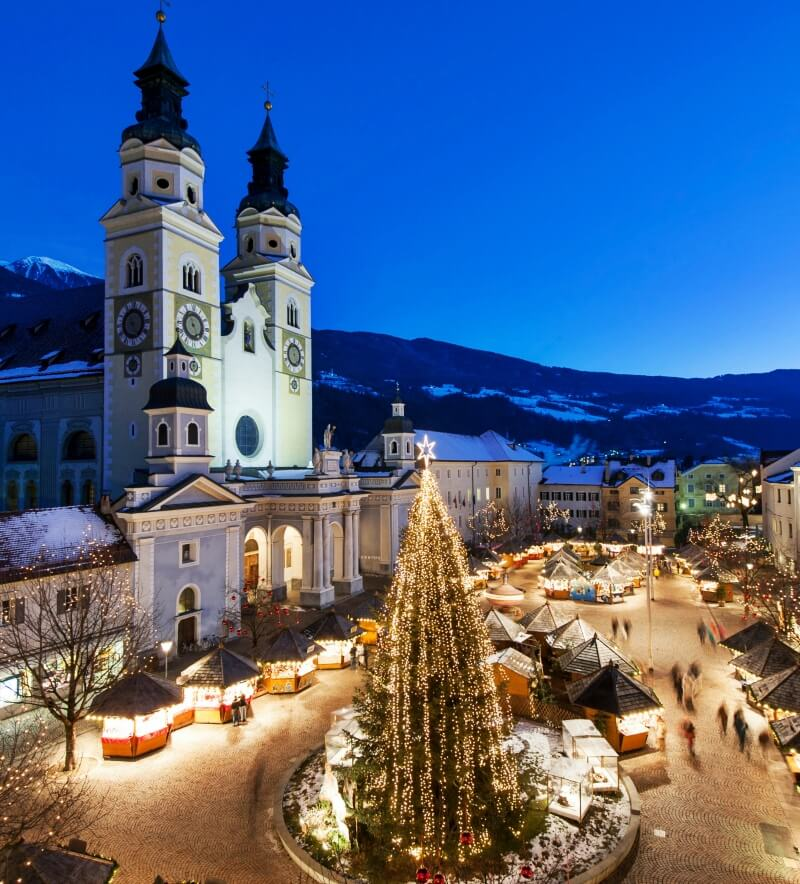 Christmas Market in Brixen, Italy