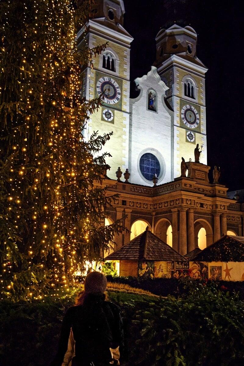 Christmas Tree in Brixen