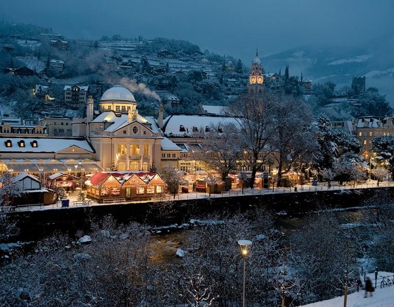 Christmas Market in Merano, Italy
