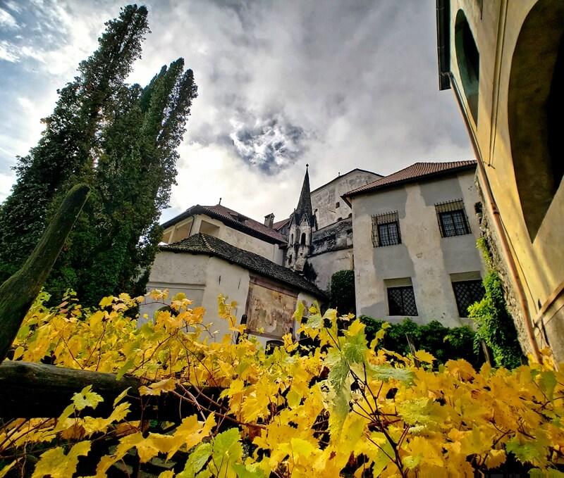 Lebenberg Castle Courtyard