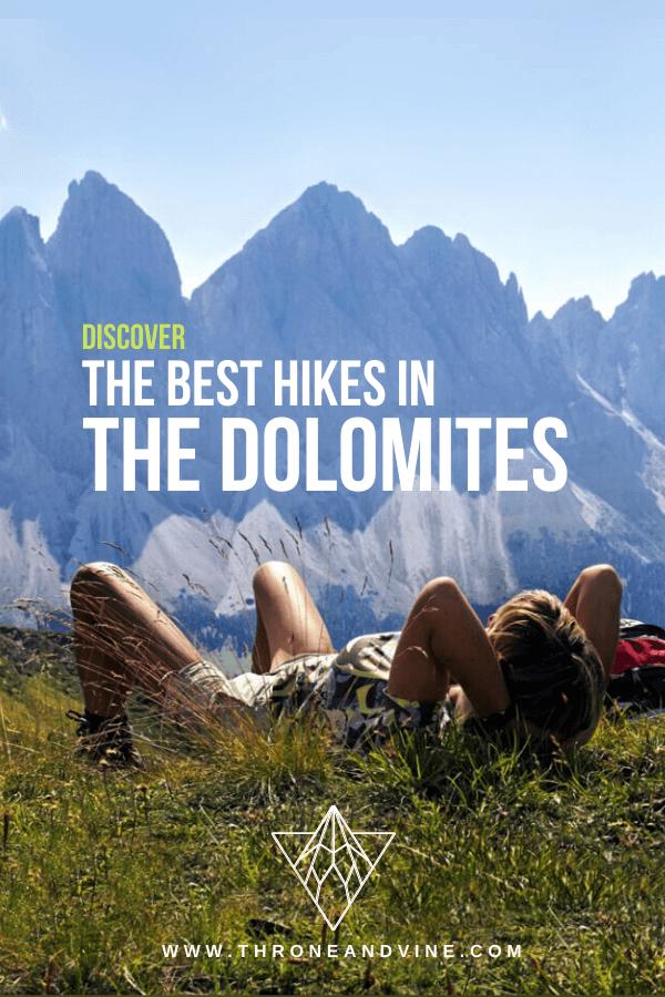 Dolomites Itinerary