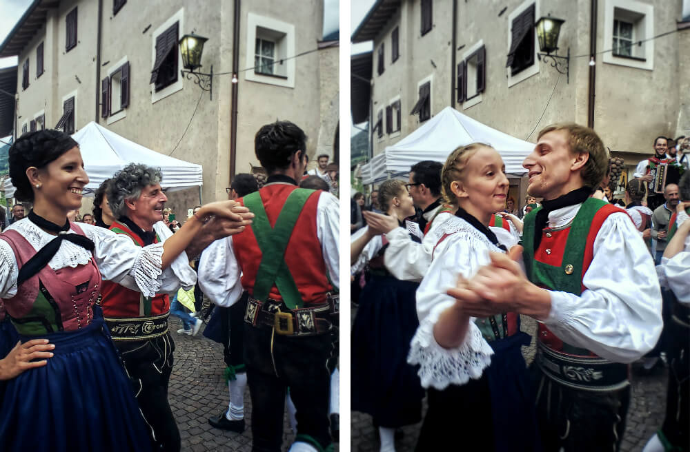 Traditional Tyrolean Dance