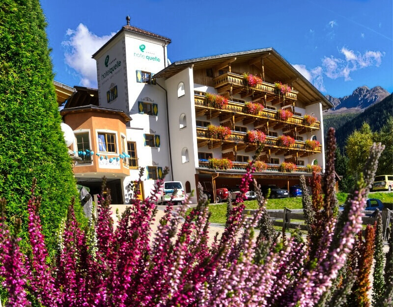Hotel Quelle Nature Spa Resort in South Tyrol