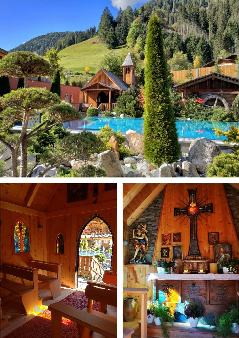 Hotel Quelle Poolside Chapel