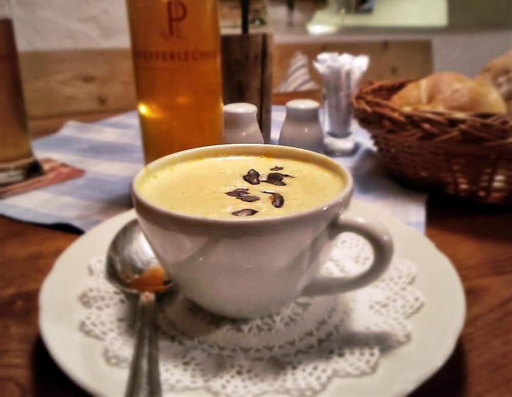 Pfefferlechner Pumpkin Soup