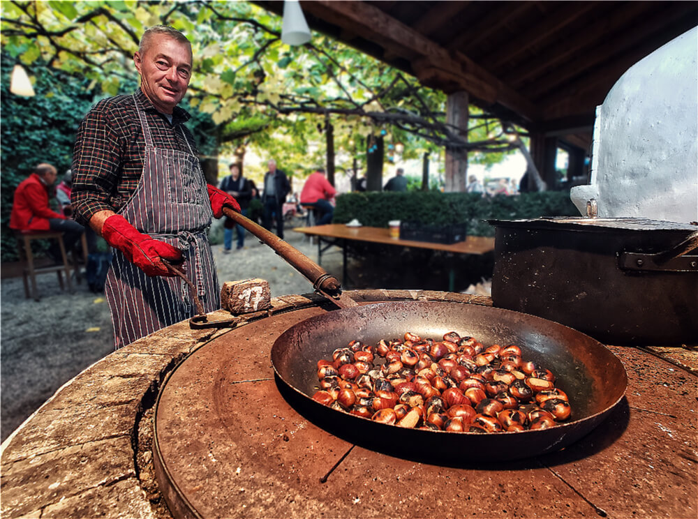 Pfefferlechner roasted chestnuts