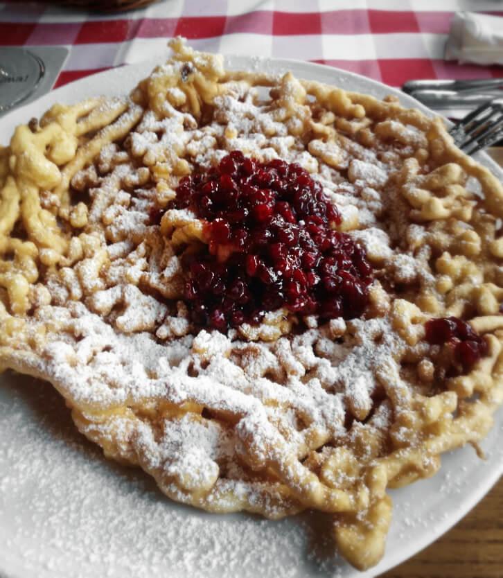Strauben Dessert