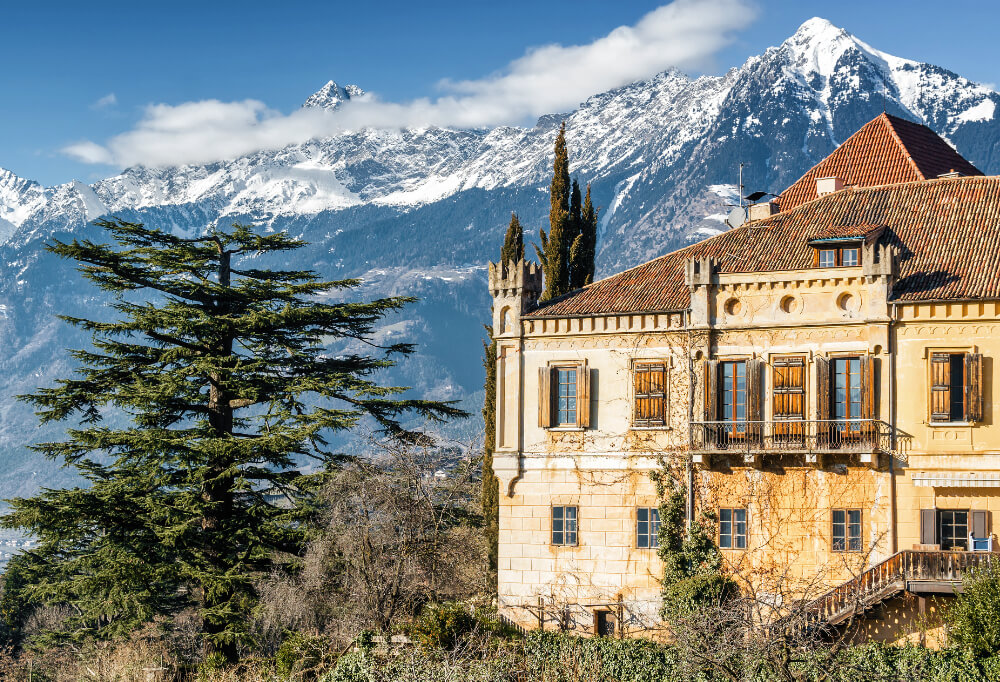 Castel Rametz in Merano, Italy