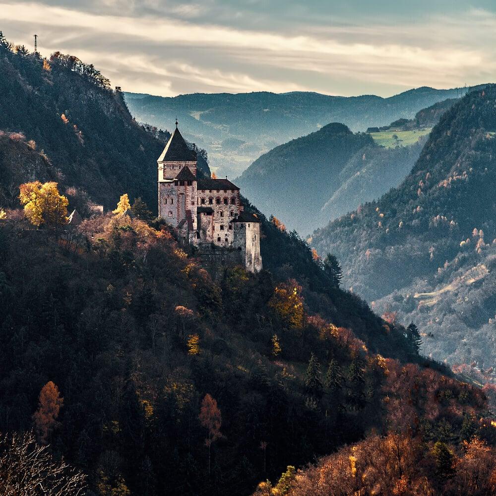 Trostburg Castle, South Tyrol