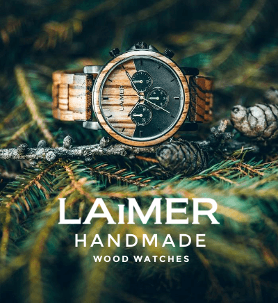 Laimer Wood Watches from South Tyrol
