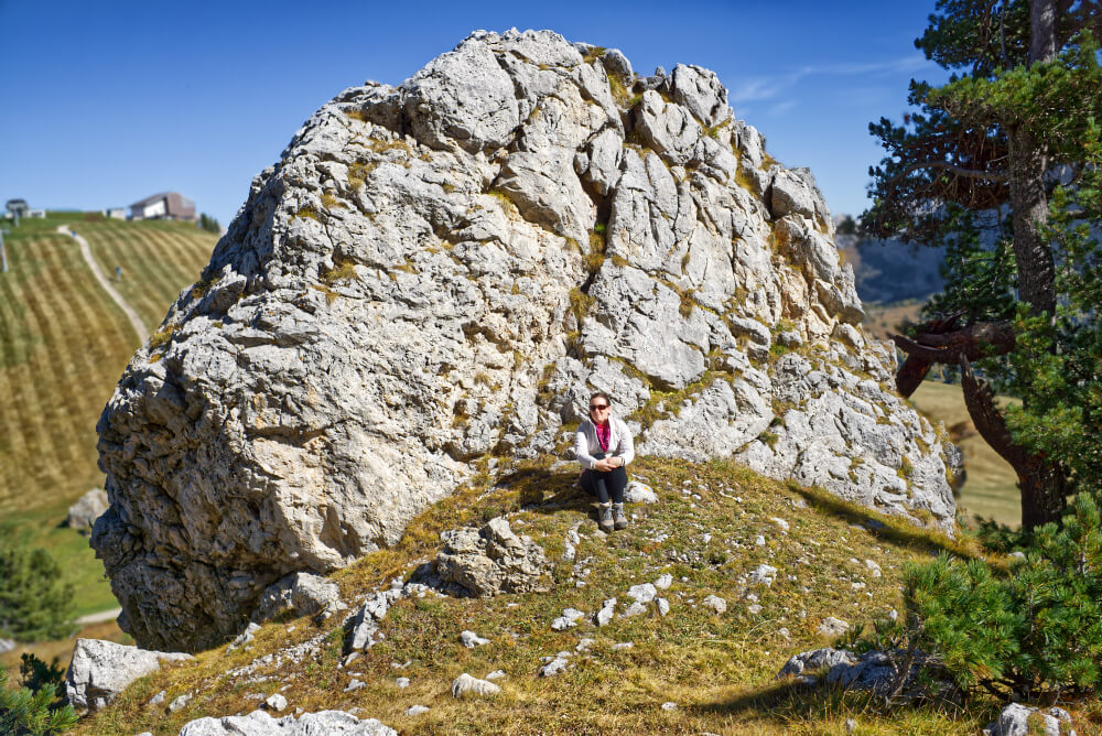 Hiking Langkofel